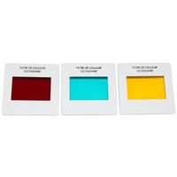 Lot de 3 filtres couleurs