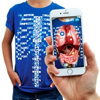 T-shirt Virtuali-Tee®, CURISCOPE®, adulte